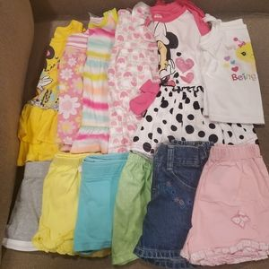 47 pc Lot of Girls 18mos Clothing